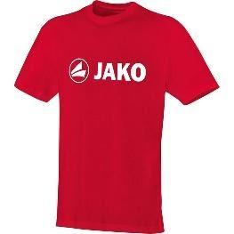 T-shirt Single-Jersey rood